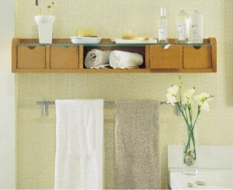 Creative Practical Bathroom Storage Design Ideas33