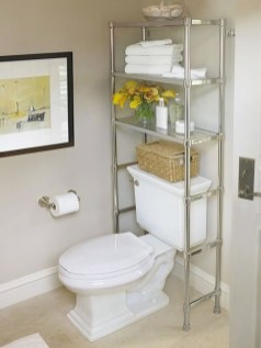 Creative Practical Bathroom Storage Design Ideas36