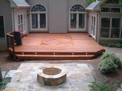Gorgeous Wooden Deck Porch Design Ideas 07