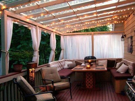 Gorgeous Wooden Deck Porch Design Ideas 08