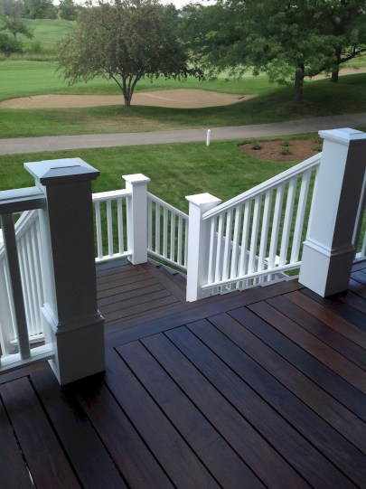 Gorgeous Wooden Deck Porch Design Ideas 14