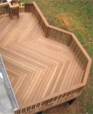 Gorgeous Wooden Deck Porch Design Ideas 41