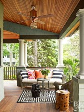 Gorgeous Wooden Deck Porch Design Ideas 42