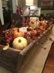 Inspiring Rustic Fall Mantel Decoration Ideas 01