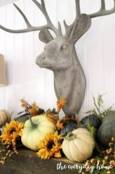 Inspiring Rustic Fall Mantel Decoration Ideas 03