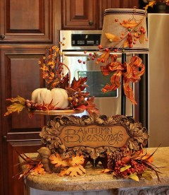 Inspiring Rustic Fall Mantel Decoration Ideas 29
