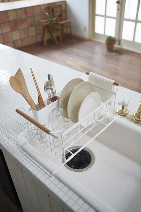 Small And Creative Dish Racks And Drainers Ideas26