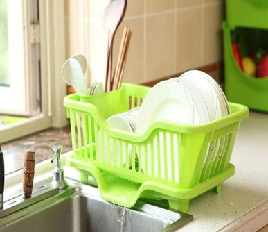 Small And Creative Dish Racks And Drainers Ideas36