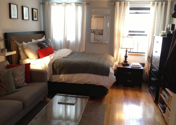 Totally Cool Tiny Apartment Loft Space Ideas 15