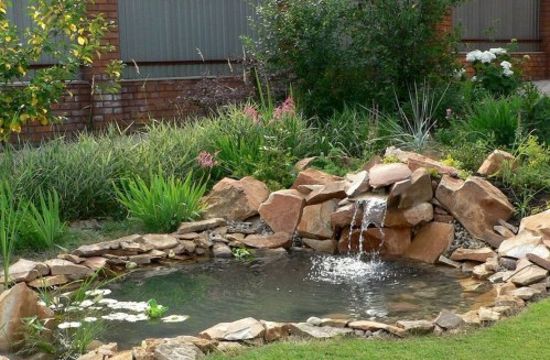 Totally Inspiring Backyard Waterfall Ideas On A Budget 19