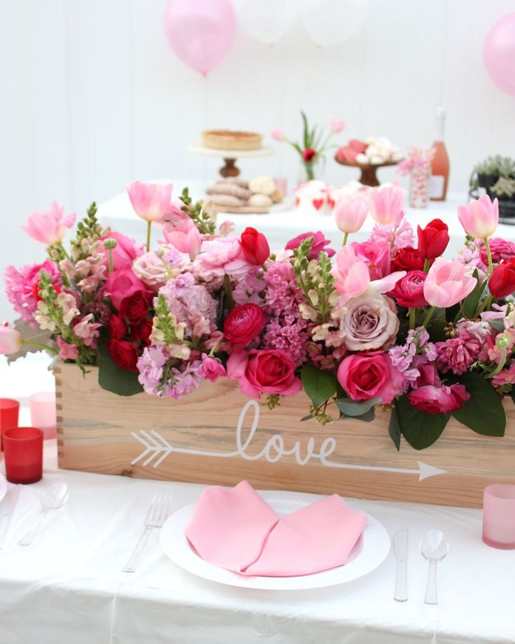Adorable Valentines Day Party Decoration Ideas 11