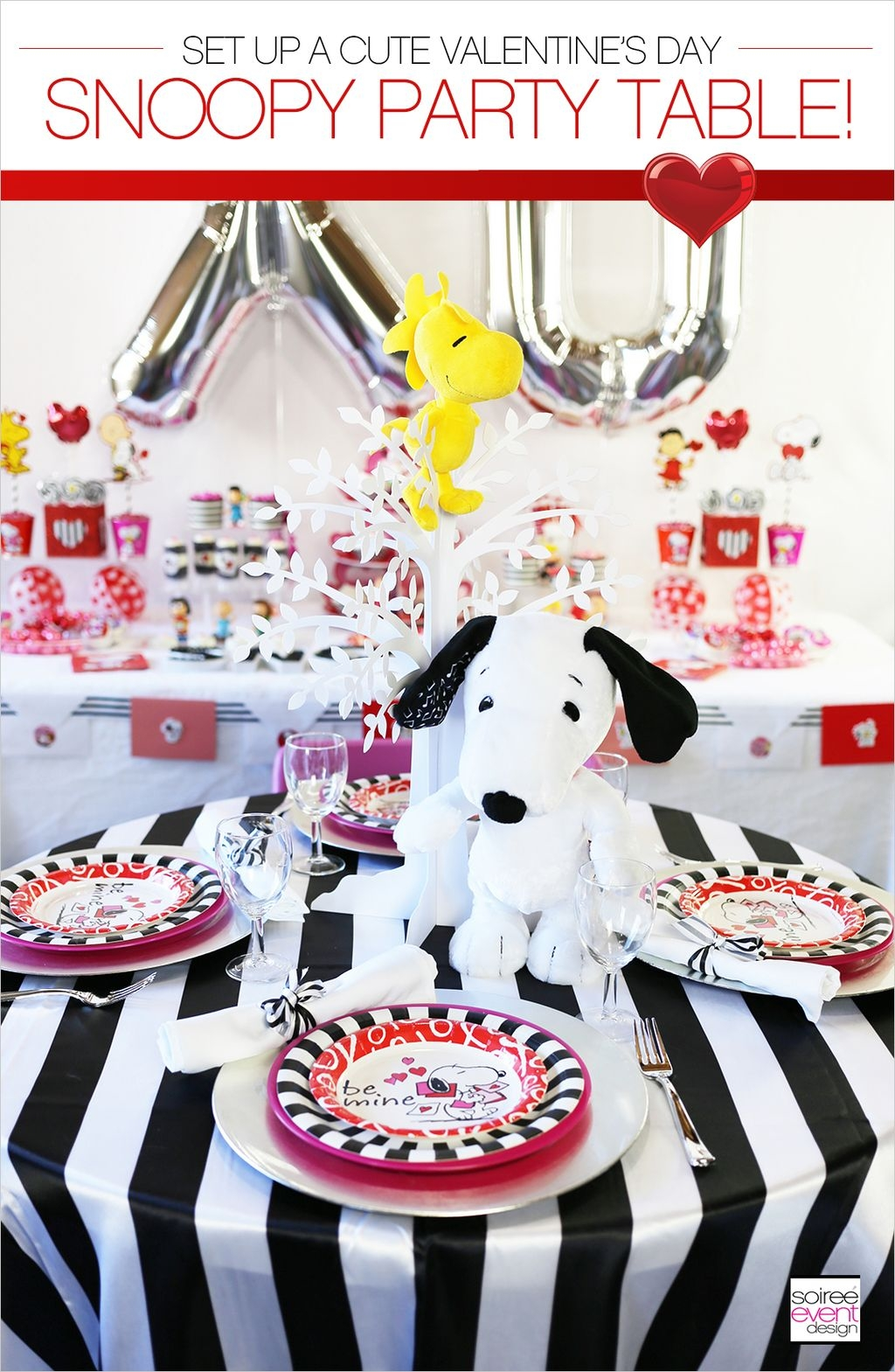 Adorable Valentines Day Party Decoration Ideas 41
