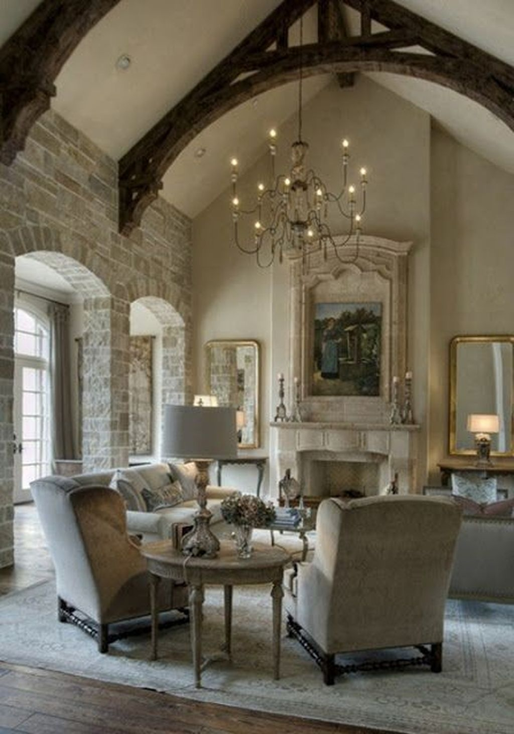 Amazing French Country Home Decoration Ideas 33