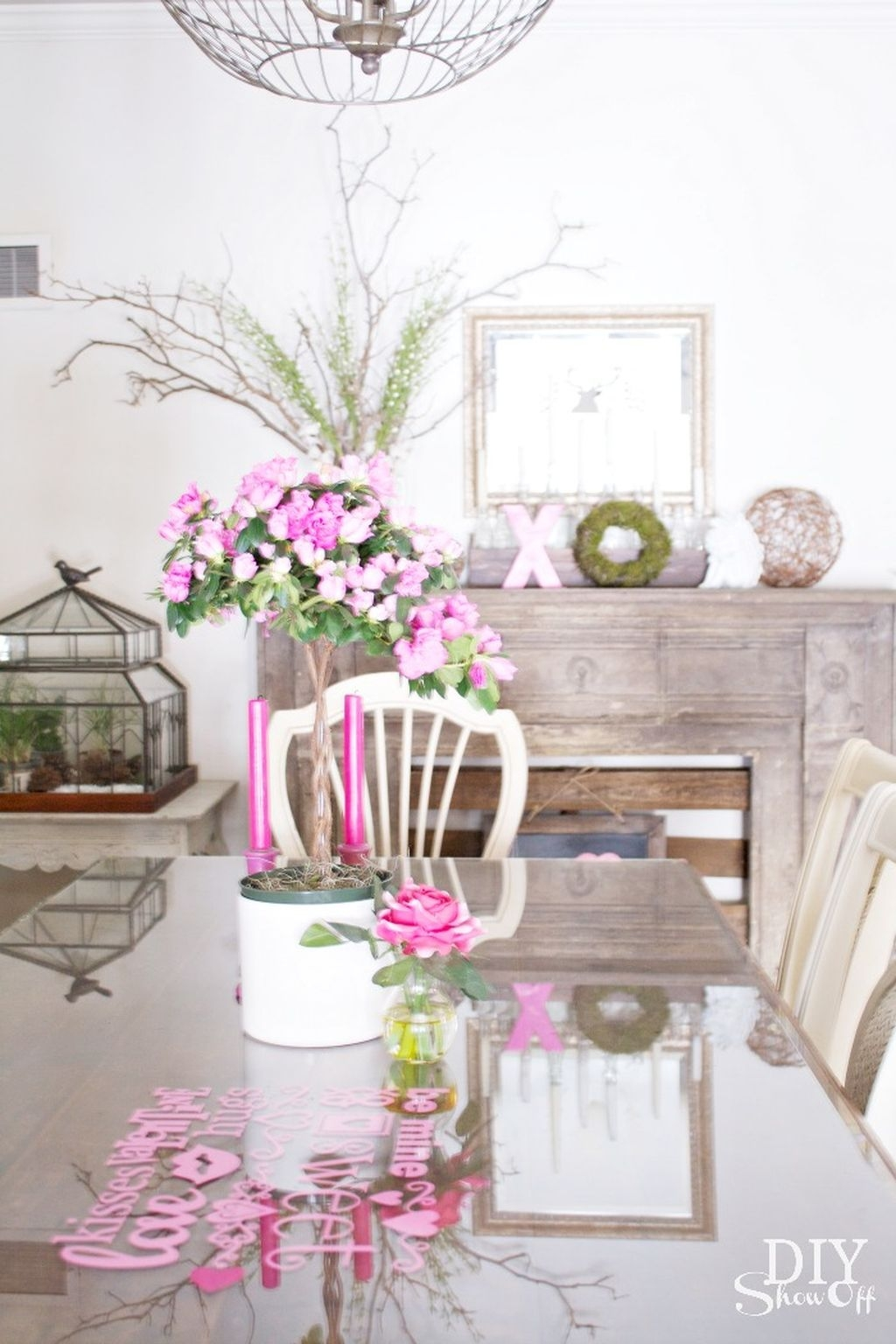 Best Ideas Decorate Dining Room Table Valentines 04