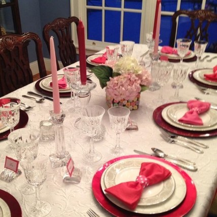 Best Ideas Decorate Dining Room Table Valentines 07