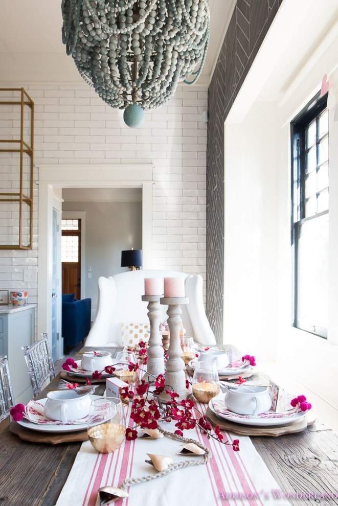 Best Ideas Decorate Dining Room Table Valentines 25