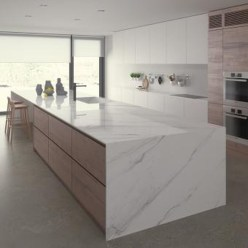Best Porcelain Slab Countertops Design Ideas For Your Kitchen 34