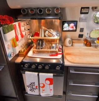 Best Travel Trailer Organization Rv Storage Hacks Remodel Ideas 23