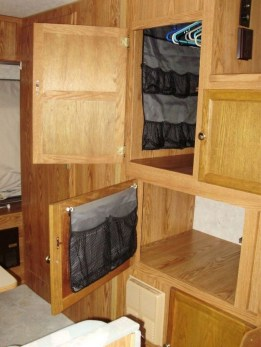 Best Travel Trailer Organization Rv Storage Hacks Remodel Ideas 48