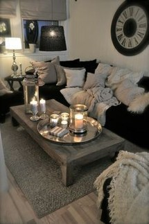 Best Winter Living Room Decoration Ideas 31