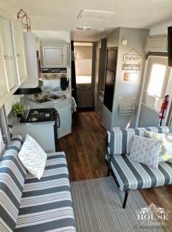 Creative Rv Camper Remodel Ideas You Will Love 20