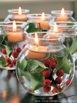 Stylish Winter Centerpiece Decoration Ideas 43