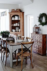 Amazing Rustic Dining Room Table Decor Ideas 13