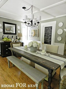 Amazing Rustic Dining Room Table Decor Ideas 36