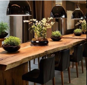 Amazing Rustic Dining Room Table Decor Ideas 39