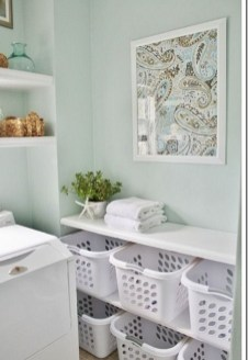Awesome Laundry Room Storage Organization Ideas 22