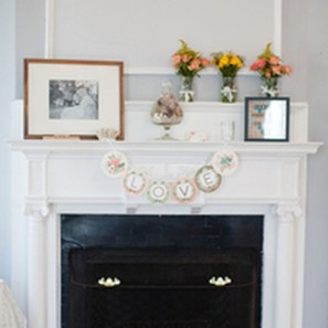 Best Valentines Fire Pit Mantel Decorating Ideas 36