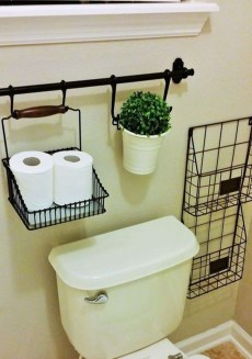 Brilliant Small Bathroom Storage Organization Ideas 05