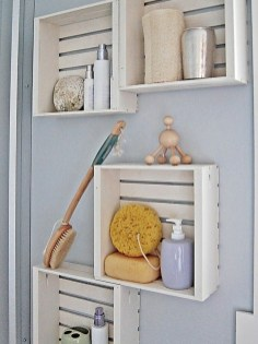 Brilliant Small Bathroom Storage Organization Ideas 13