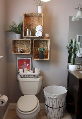 Brilliant Small Bathroom Storage Organization Ideas 25