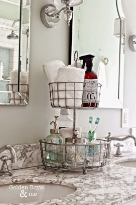 Brilliant Small Bathroom Storage Organization Ideas 26