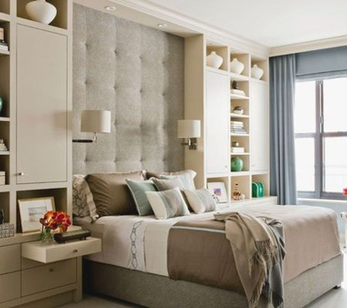 Cool Small Master Bedroom Decorating Ideas 53