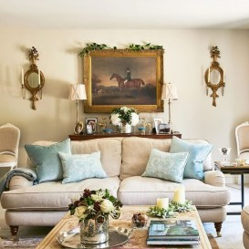 Cozy French Country Living Room Decor Ideas 10