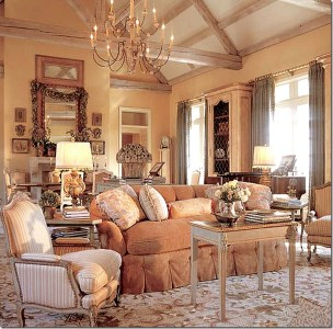 Cozy French Country Living Room Decor Ideas 18