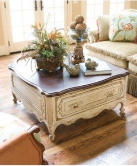 Cozy French Country Living Room Decor Ideas 34