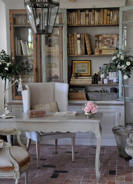 Cozy French Country Living Room Decor Ideas 48