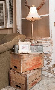 Cute Shabby Chic Farmhouse Living Room Decor Ideas 20
