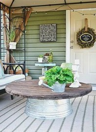 Elegant Farmhouse Front Porch Decor Ideas 10