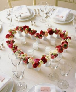 Inspiring Table Decoration Ideas For Valentines Party 05