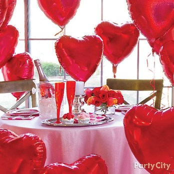 Inspiring Table Decoration Ideas For Valentines Party 11