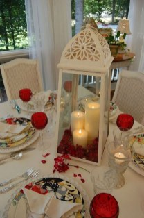 Inspiring Table Decoration Ideas For Valentines Party 37