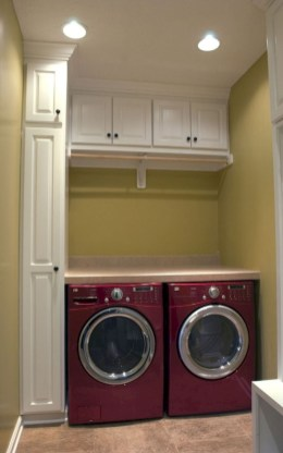 Totally Inspiring Small Functional Laundry Room Ideas 14