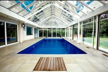 Adorable Small Indoor Swimming Pool Design Ideas 54