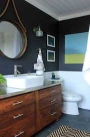 Awesome Coastral Nautical Bathroom Design Ideas 31