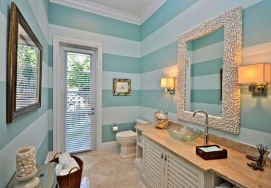 Awesome Coastral Nautical Bathroom Design Ideas 33