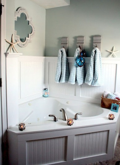 Awesome Coastral Nautical Bathroom Design Ideas 46